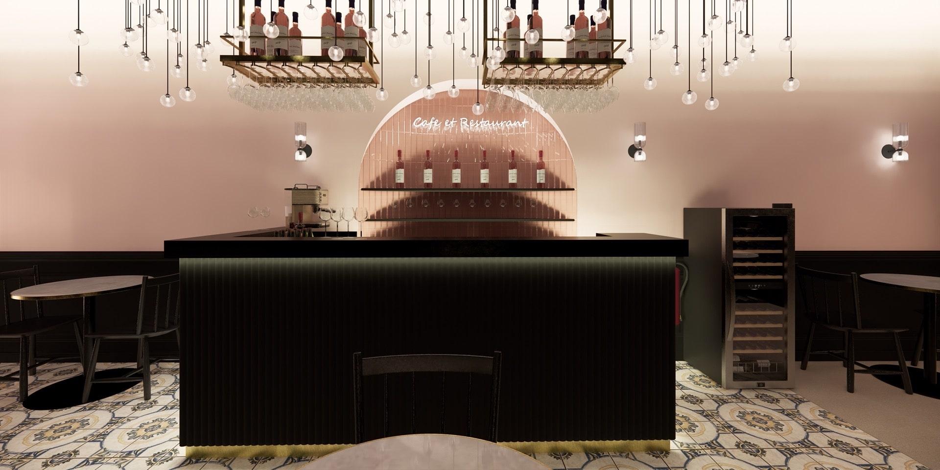 Restaurant design - Atelier Soo